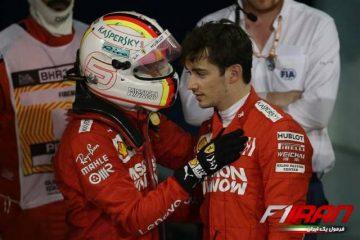 چارلز لکلرک و سباستین فتل - بحرین 2019