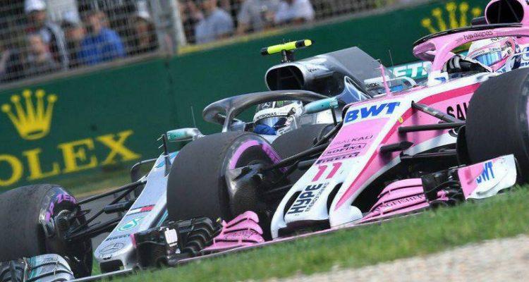 والتری بوتاس و سرجیو پرز - مسابقه استرالیا 2018