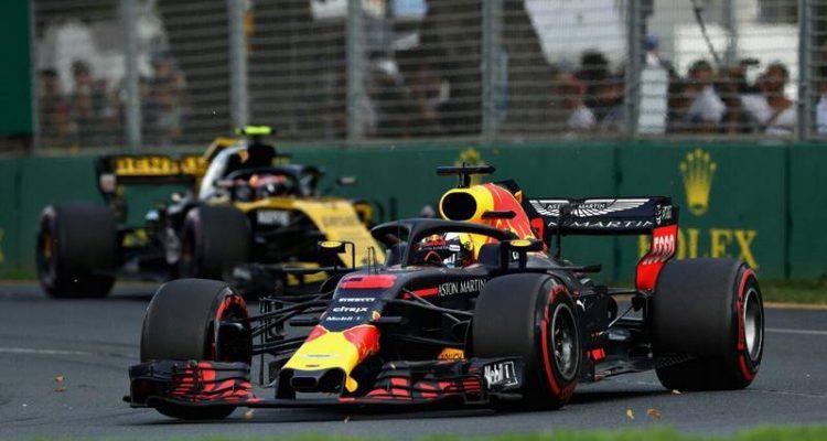 دنیل ریکاردو - مسابقه استرالیا 2018