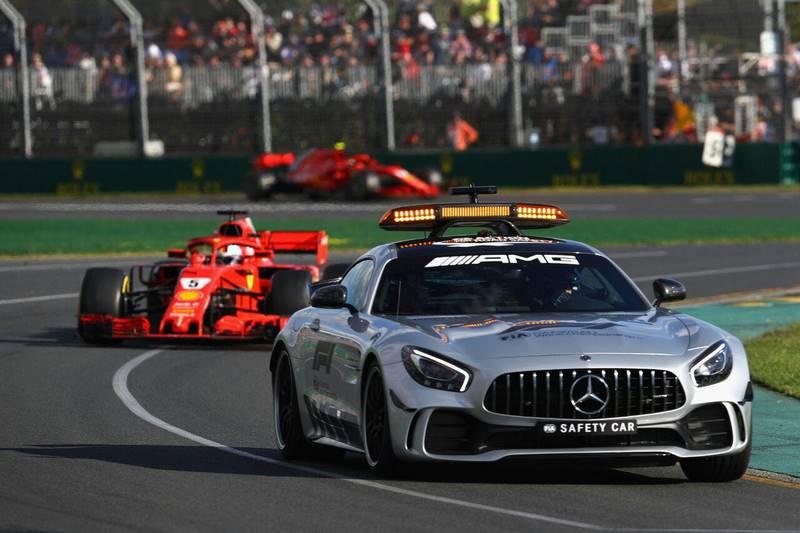 ماشین ایمنی - مسابقه استرالیا 2018