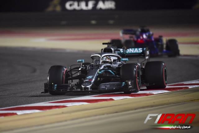 لوئیس همیلتون - بحرین 2019