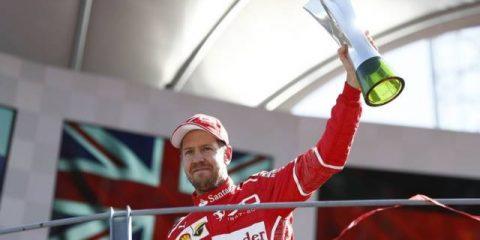 سباستین فتل - مسابقه گرندپری ایتالیا 2017