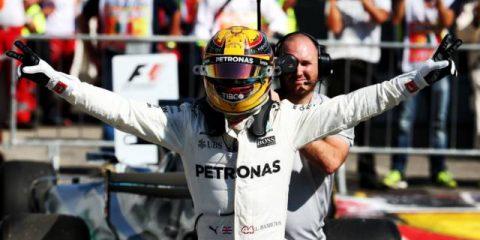 لوئیس همیلتون - مسابقه گرندپری ایتالیا 2017