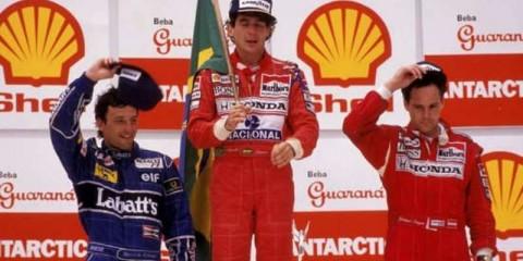 آیرتون سنا - گرندپری برزیل 1991