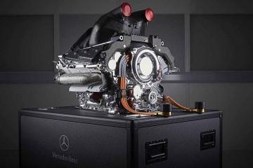 موتور فرمول یک ، مرسدس
