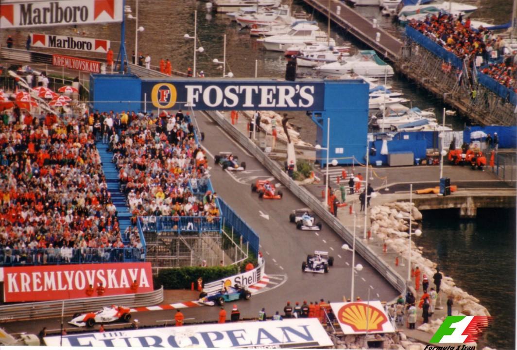 Monaco 1996 Formation Lap