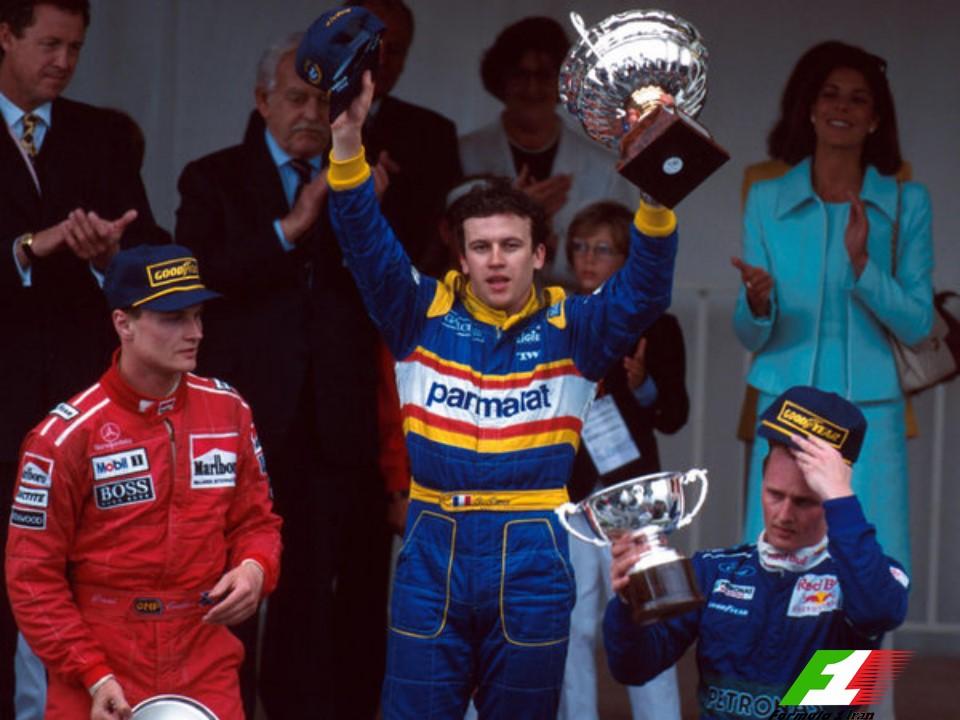 Monaco 1996 Grand Prix Podium