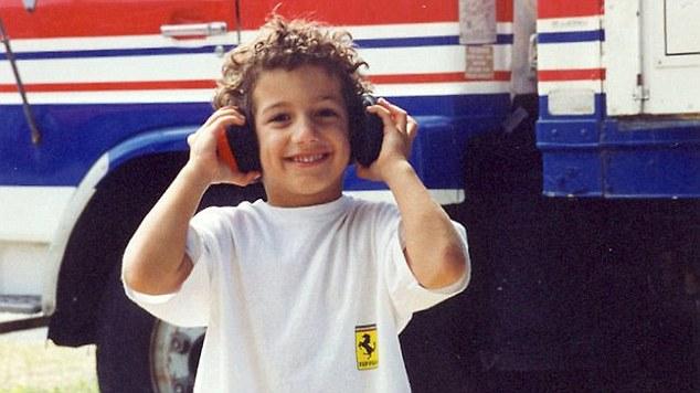دنیل ریکاردو در کودکی