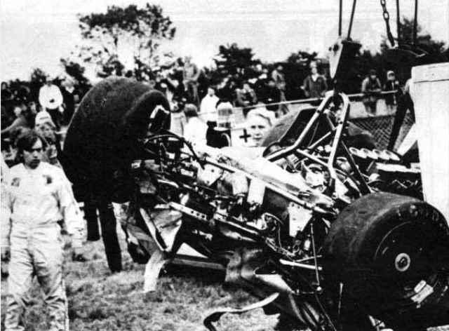 دیوید پورلی تصادف سال ۱۹۷۷