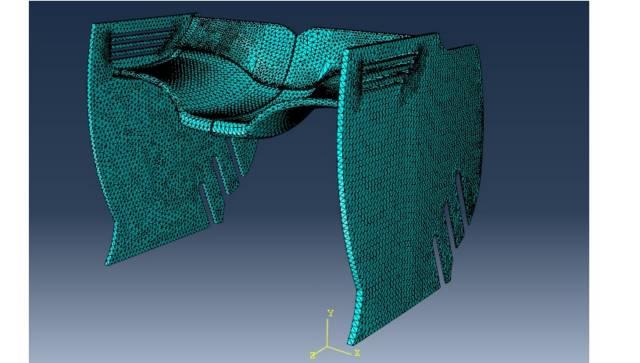 مش بندی (MESH) شبیه ساز در محیط CFD نرم افزار
