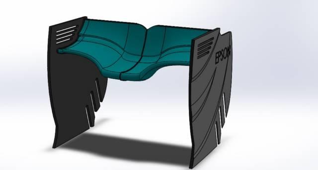 هندسه قاشقی (SPOON) بال عقب خودرو فرمول یک تیم مرسدس در باکو 2016