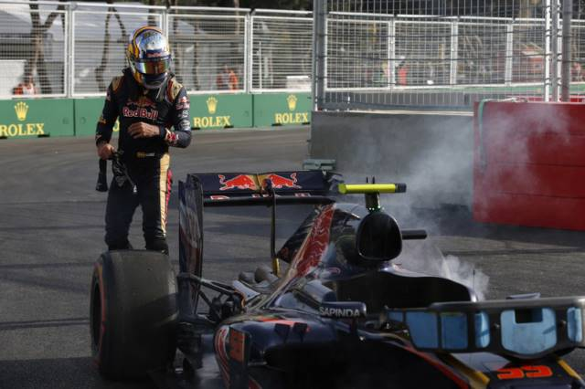 کارلوس ساینز - مسابقه ی آذربایجان