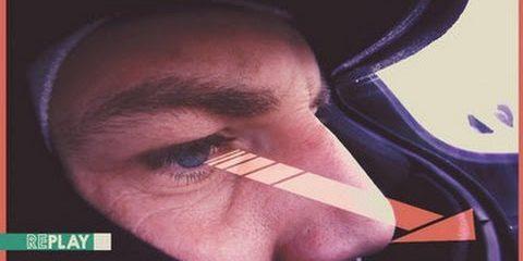 ویدیو؛ ردیابی چشم یک راننده ی فرمول یک