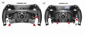 rosberg steering wheel