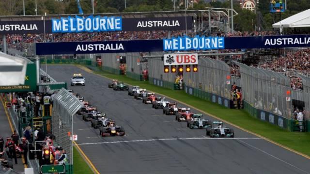 قوانین و مقررات فرآیند شروع مسابقه فرمول یک