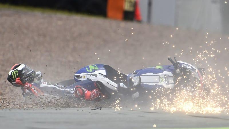 تصادف سنگین خورخه لورنزو