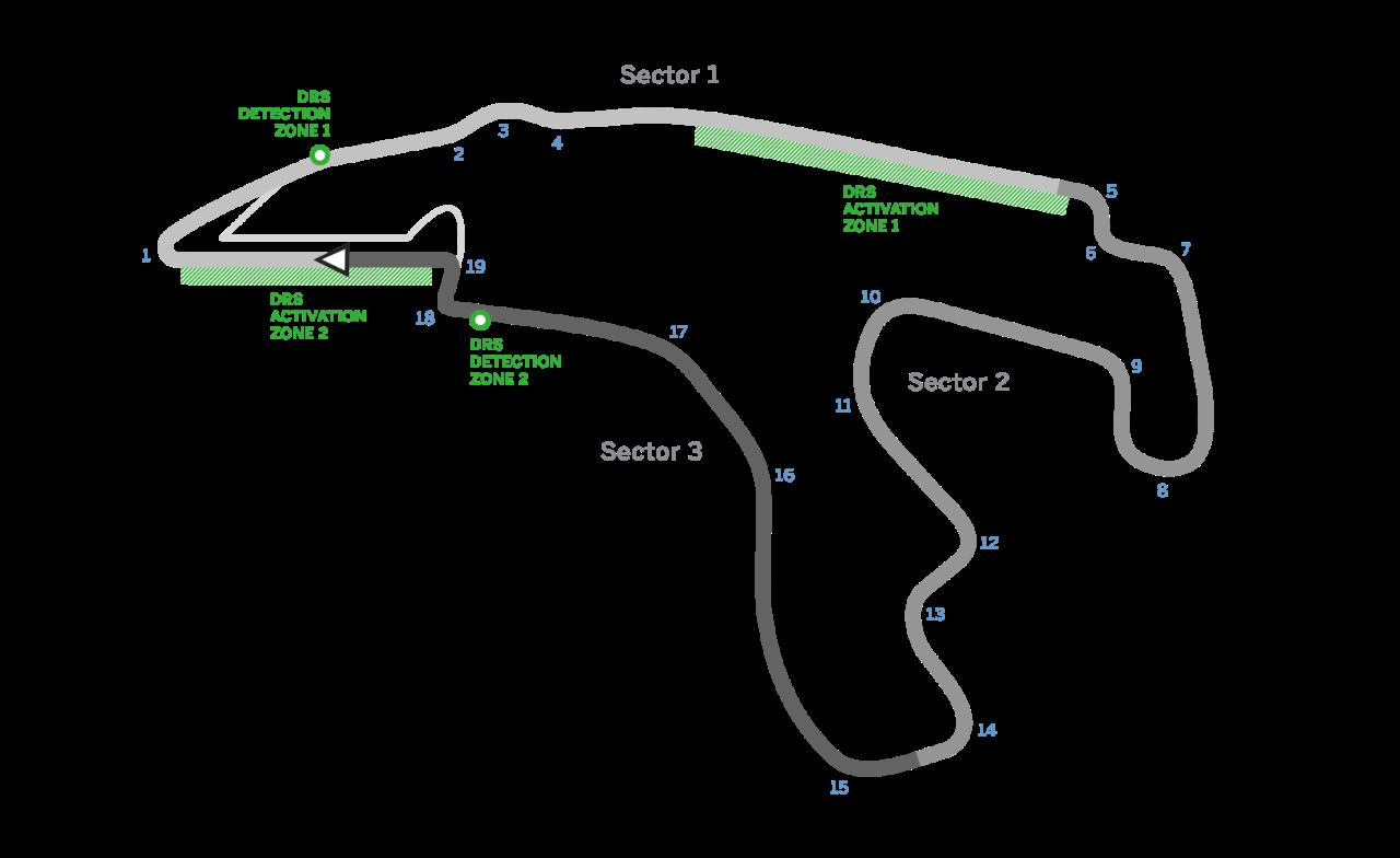 نقشه ی پیست اسپافرانکوشامپ