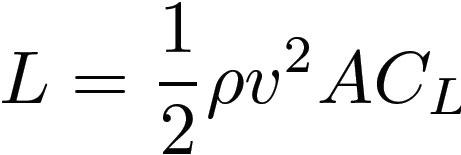 رابطه محاسبه نیروی داون فورس