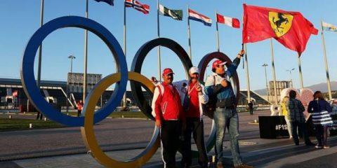 المپیک و فرمول یک