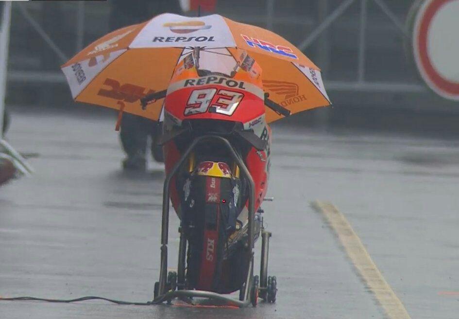 شرایط آب و هوا قبل از شروع مسابقه