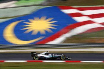 تمرین اول فرمول یک مالزی 2016