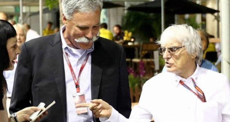 برنی اکلستون و چیس کری