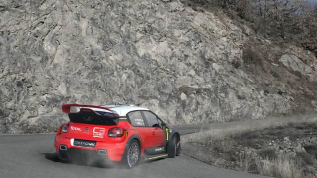 ماشین رالی 2017 سیتروئن - سیتروئن C3