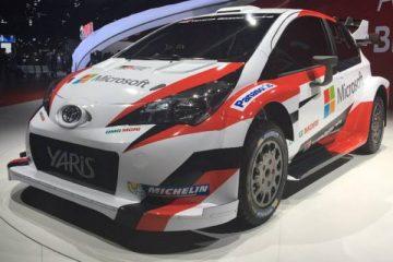 ماشین رالی 2017 - تویوتا یاریس wrc