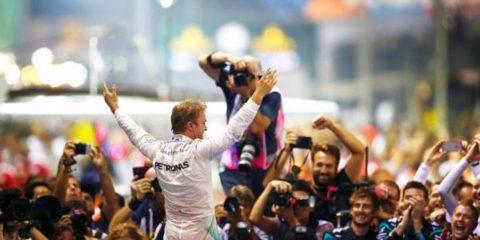 نیکو روزبرگ - مسابقه فرمول یک سنگاپور 2016