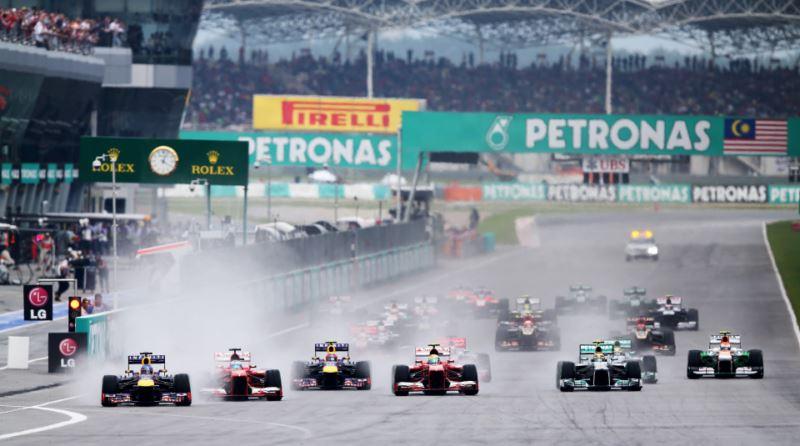 استارت مسابقه ی مالزی در سال 2013