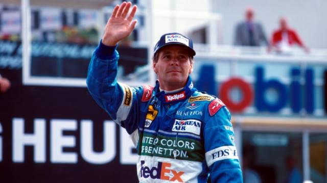 گرهارد برگر ، بنتون - سن مارینو 1997