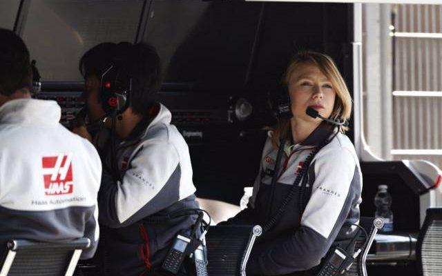 روث باسکام ، مهندس و استراتژیست زن فرمول یک تیم های فراری ، هاس و سائوبر
