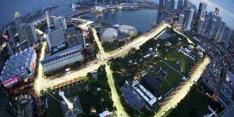 پیست فرمول یک مارینا بی سنگاپور