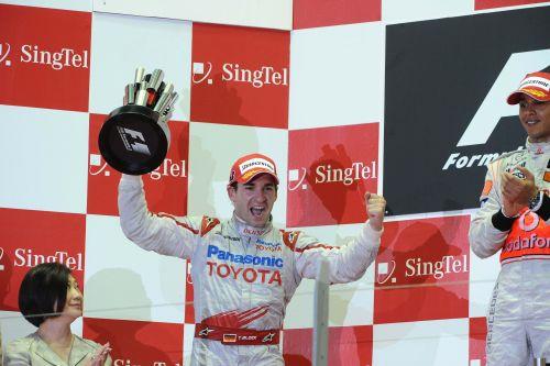 تیمو گلاک؛ سکوی مسابقه ی سال 2009