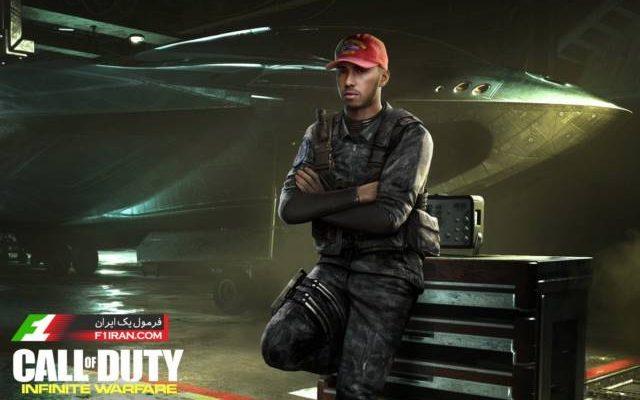 لوئیس همیلتون - دانلود بازی ندای وظیفه: جنگ بی پایان 2016 - بازی Call of Duty Infinite Warfare
