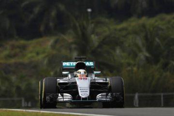 لوئیس همیلتون - تمرین سوم فرمول یک مالزی 2016