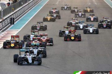 شروع مسابقه ابوظبی