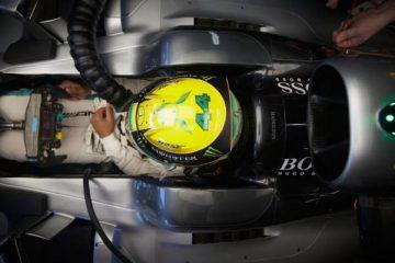لوئیس همیلتون - تمرین دوم فرمول یک برزیل 2016