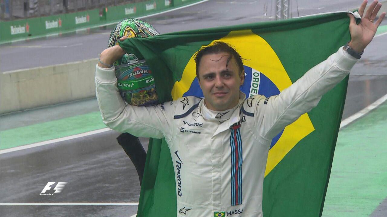 خداحافظی فلیپ ماسا در برزیل