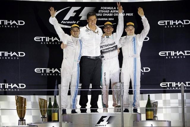 سکوی مسابقه ابوظبی سال 2014