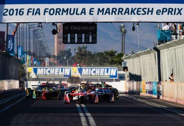 مسابقه فرمولE مراکش 2016
