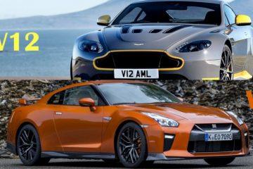 مقایسه استون مارتین و نیسان GTR
