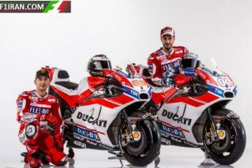 موتور موتوجی پی دوکاتی 2017 - خورخه لورنزو و آندره دویزیوسو