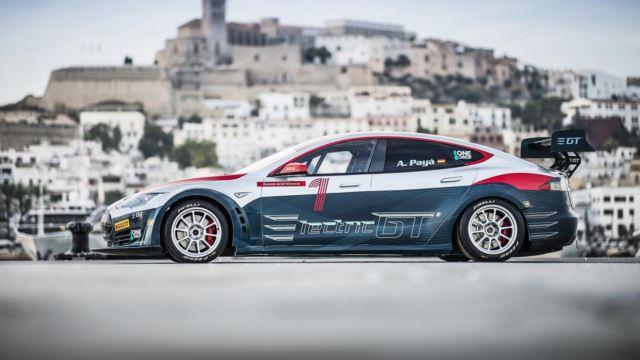 تسلا مدل S P100D racer