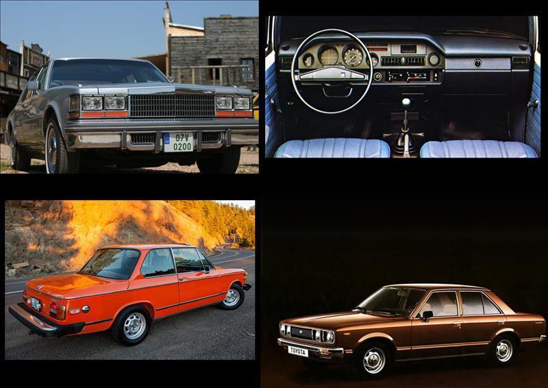 خودرو های وارداتی دهه هفتاد میلادی