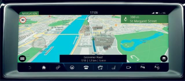 نمایشگر و نویگیشن InControl Touch PRO