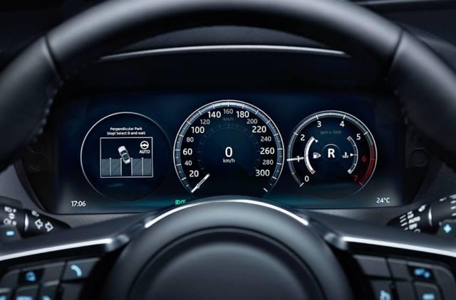 صفحه کیلومتر InControl Touch Pro
