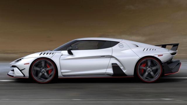 خودروی خاص ایتال دیزاین