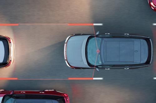 حرکت خودرو بین خطوط و بررسی شرایط راننده: