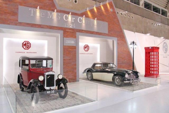خودروهای کلاسیک MG